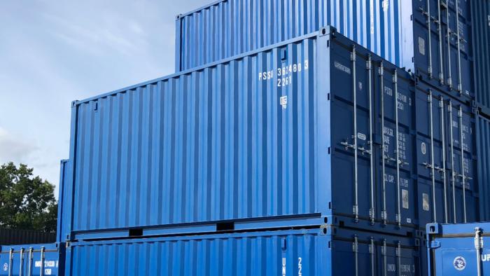 Uniteam 20 fot ISO container