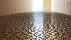 Golvbeläggning Aluminium Durk
